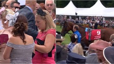 Ladies Day gets underway at Newmarket racecourse.