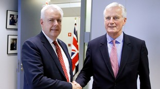 Michel Barnier also met with Wales' First Minister Carwyn Jones.