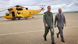 Charles to visit Anglesey RAF base where William served