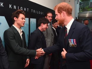 Harry Styles and Prince Harry