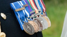 Soldiers medals stolen in burglary
