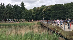 The number of people attending Latitude is the same as the size of a small town.