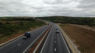 A30 dual carriageway opens improving links to Cornwall