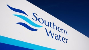 Southern Water sign