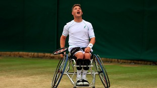 Alfie Hewett put in a superb performance, but it wasn't enough.
