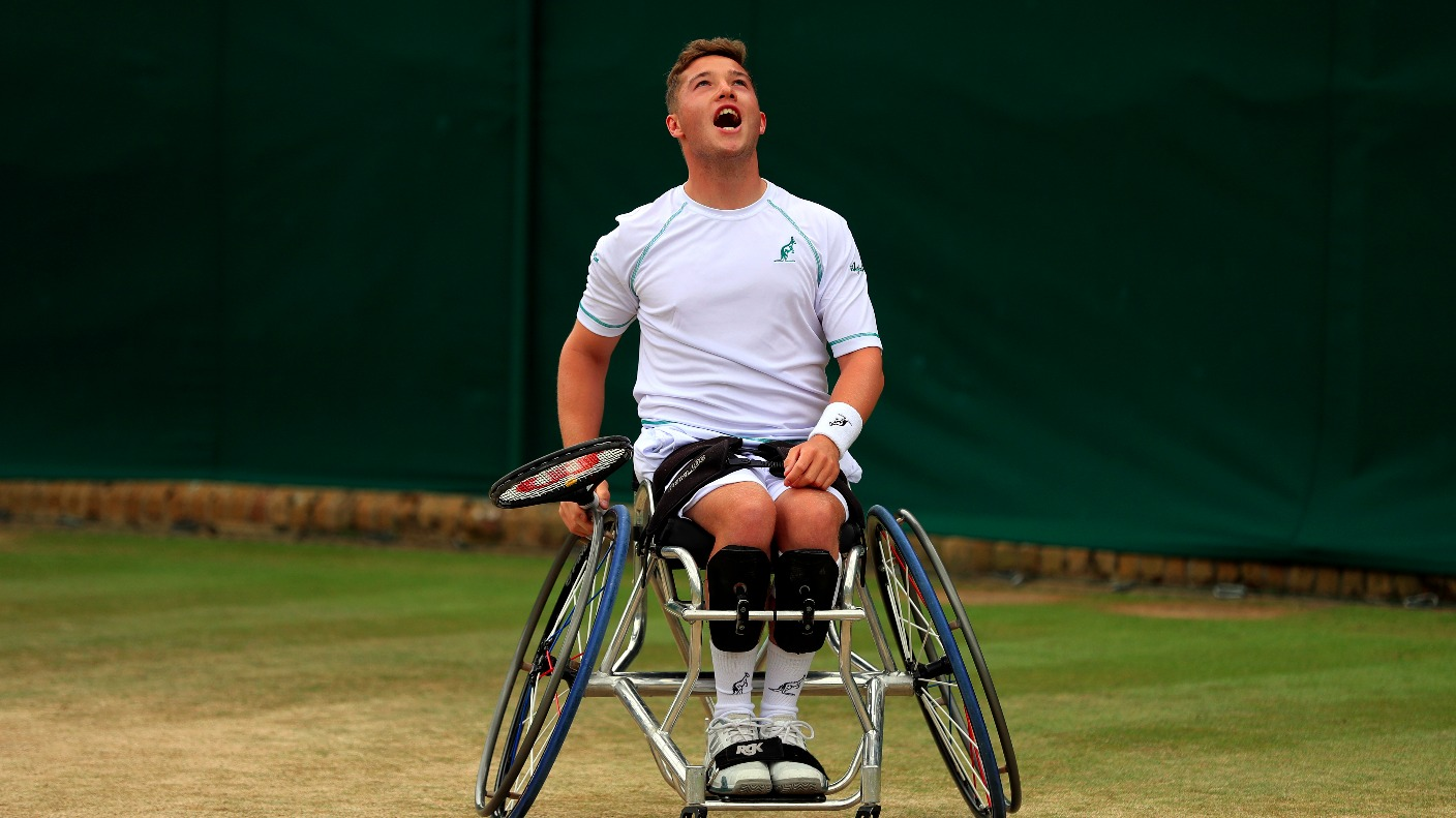 hewett single personals Great britain's alfie hewett will play in two wheelchair finals at the french open after a very successful day in paris the 19-year-old from norwich has had a rapid rise up the rankings and won two silver medals at the paralympic games last summer he reached his first grand slam singles final.