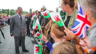 Prince Charles in Wrexham