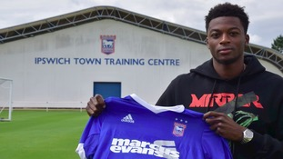 Dominic Iorfa has signed for Ipswich Town on loan.