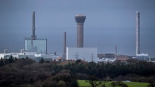 Sellafield site in west Cumbria