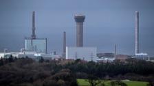 Sellafield site in west Cumbria
