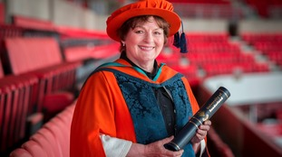 ITV's Vera star wins Sunderland university award