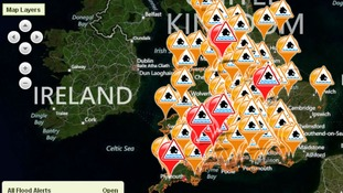 The Environment Agency is urging people in at risk areas to be 'flood aware'