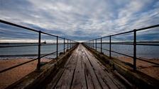 Wooden Pier at Blyth  JIM JONES