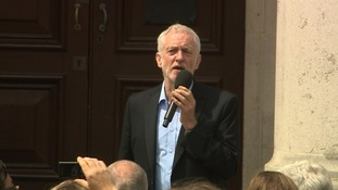 Jeremy Corbyn urges Conservatives to stand aside for Labour 'government in waiting'