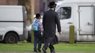 Anti-Semitic crimes recorded by police forces around the UK increased by 14.9% in 2016.