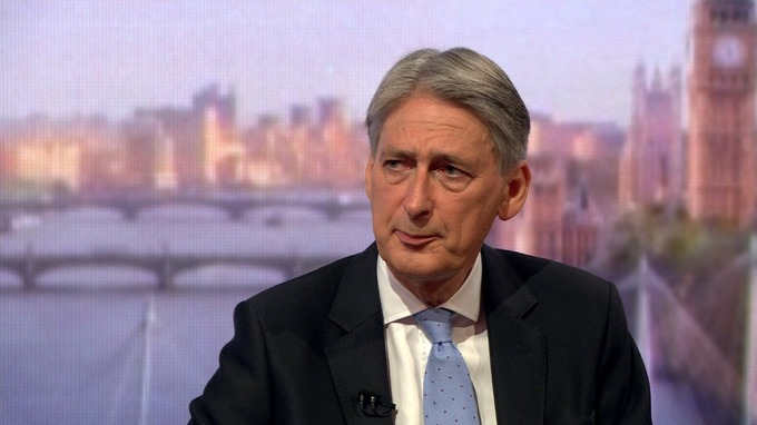 Philip Hammond allegedly said public sector workers were 'overpaid'.