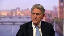 Mr Hammond has spoken in favour of continuing the public sector pay cap