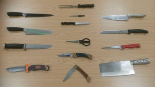 Knives and sharp objects handed into Cleveland Police