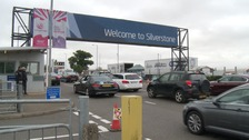 Thousands enjoy the British Grand Prix at Silverstone