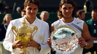 An epic contest against Nadal secured Federer's fifth Wimbledon title.