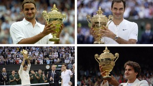 Roger Federer is arguably the greatest tennis player of all time.