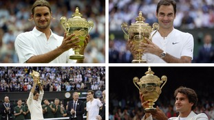 Roger Federer's Wimbledon: Through the years