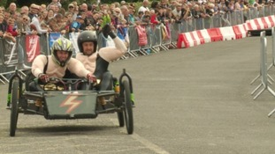 Soapbox racing returns to Portishead