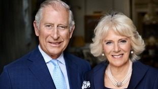 Double portrait release marks Camilla's 70th birthday