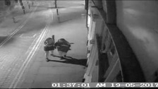 Police are keen to trace the women captured in this CCTV photo