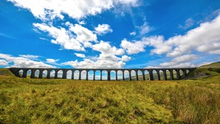 Ribblehead Viaduct Sunday