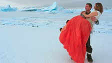 Couple tie the knot in first ever Antarctic wedding