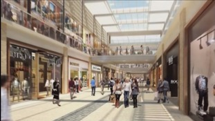 An impression of what the centre will look like inside