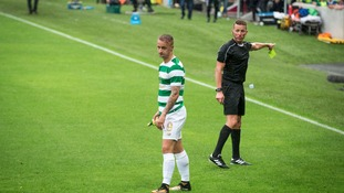 UEFA open disciplinary proceedings against Celtic striker Leigh Griffiths