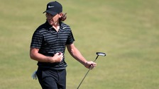 Tommy Fleetwood during practice day two of The Open Championship 2017 at Royal Birkdale