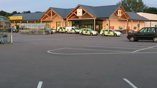Multiple police cars and the air ambulance were called to the scene.