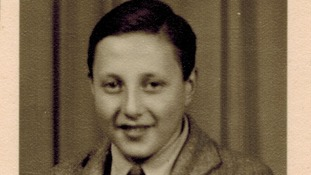Manfred Goldberg, aged 15, after the liberation.