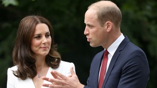 The Duke and Duchess of Cambridge are visiting Poland.