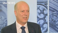 Trabsport Secretary Chris Grayling