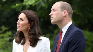 William and Kate are visiting Poland.