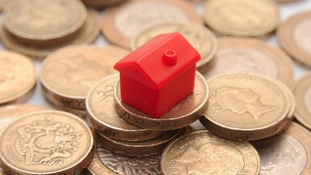 In East Anglia average property values have gone up 2.53%.