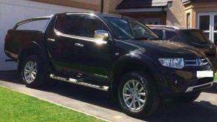 Mitsubishi L200 (registration number F12 CJW) stolen in Standalane View