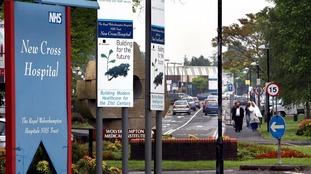 Hospital building fails fire safety cladding test