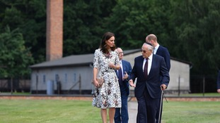 William and Kate pay 'shattering' visit to Nazi concentration camp