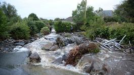 Flash flooding hits Cornish village of Coverack