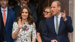 Kate and William are heading to Germany today
