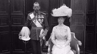 King George V with Queen Mary in 1912