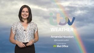 Wednesday's forecast with Amanda