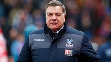 Allardyce kept Crystal Palace in the Premier League last season.