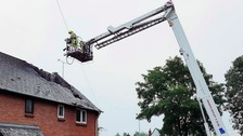 Four homes destroyed by lightning strikes in Essex
