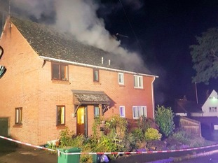 Essex Fire Service was called to the scene at about 03:50 BST on Wednesday.